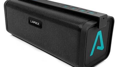 Přenosný reproduktor LAMAX Beat Street ST-1 černý/tyrkysový Nabíječka LAMAX pro LAMAX Beat Sentinel SE-1/LAMAX Beat Street ST-1 (zdarma)