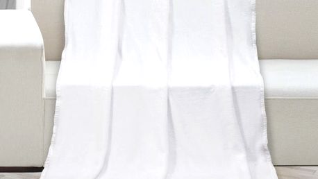 Bellatex Deka Korall micro bílá, 150 x 200 cm