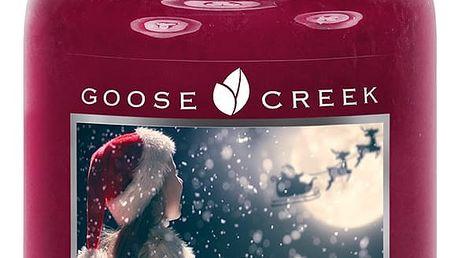 Vonná svíčka ve skleněné dóze Goose Creek Kouzlo Vánoc, 0,68kg
