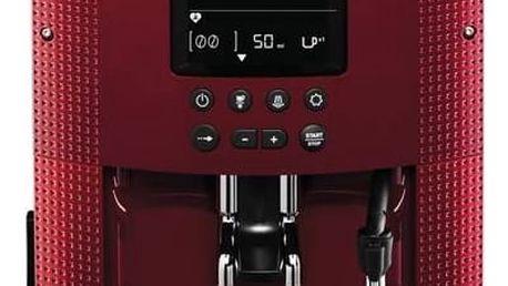 Espresso Krups EA815570 červené + Navíc sleva 10 % + Doprava zdarma