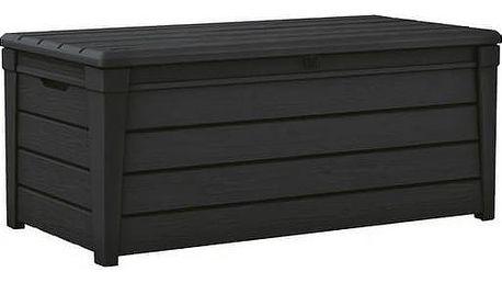 Box Keter Brightwood 455 l hnědý