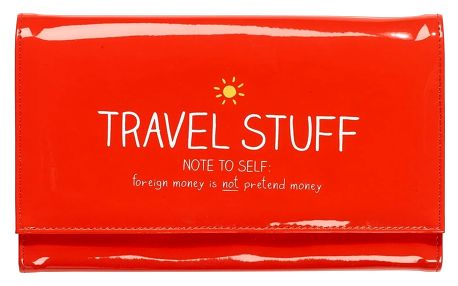 Cestovní pouzdro na doklady Happy Jackson Travel Stuff
