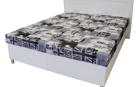 Čalouněná postel andrea *cenový trhák*, 170/200 cm