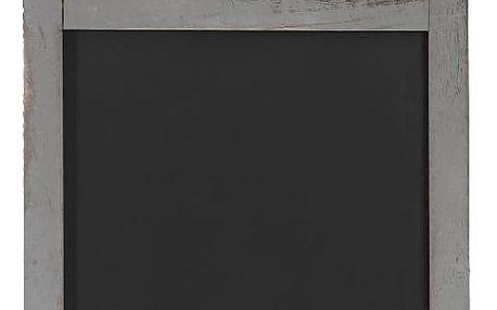 Šedá dřevěná nástěnná tabule Mendler Shabby Billboard