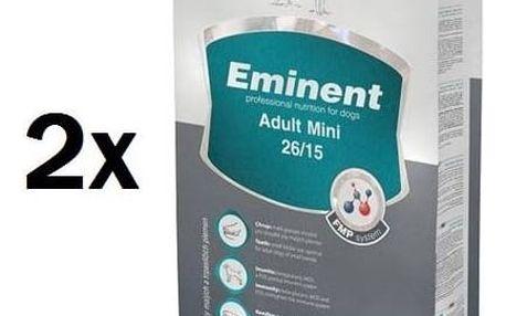 Eminent Adult MINI 2 x 15 kg + 2 kg ZDARMA