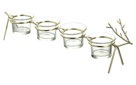 Svícen pro 4 svíčky Parlane Deer