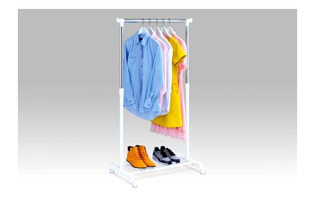 Stojan na šaty s odkladačem na boty ABD-1210 WT Autronic