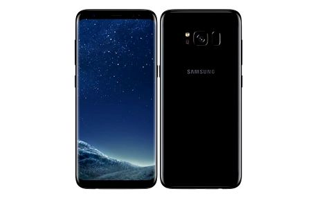 Mobilní telefon Samsung Galaxy S8 - Midnight Black (SM-G950FZKAETL) + Doprava zdarma