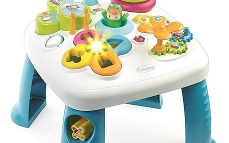 SMOBY Cotoons - multifunkční hrací stůl, modrý