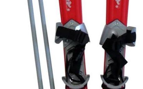 CorbySport Plastkon 28014 Lyže dětské 70cm - červené