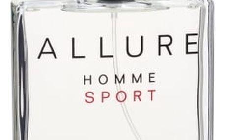 Chanel Allure Homme Sport Cologne 150 ml kolínská voda poškozená krabička pro muže