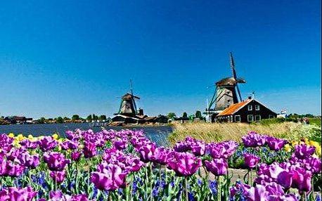 Květinový park Keukenhof, Zaanse Schans a Amsterodam - 4 denní zájezd s ubytováním