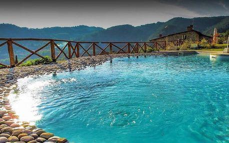 Dovolená v Toskánsku s bazénem a snídaní