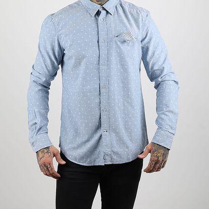 Košile Alcott JACQUARD SHIRT Modrá