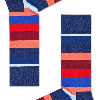 Happy Socks pruhované dámské ponožky Stripes and Stripes