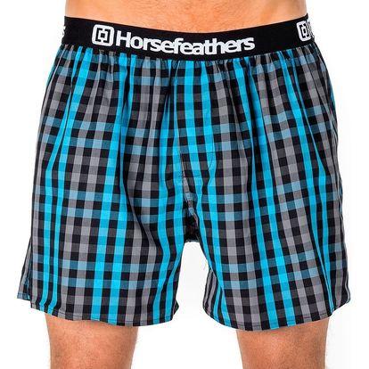 Pánské Trenky Horsefeathers Apollo Boxer Shorts Castlerock L