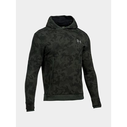 Mikina Under Armour Threadborne Hoodie Zelená