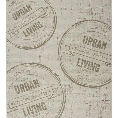 Hladce tkaný koberec urban living 2, 120/170 cm