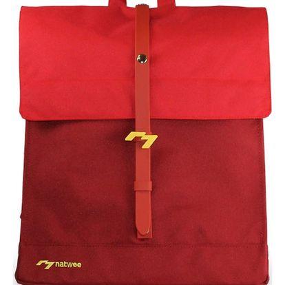 Červený batoh Natwee - doprava zdarma!