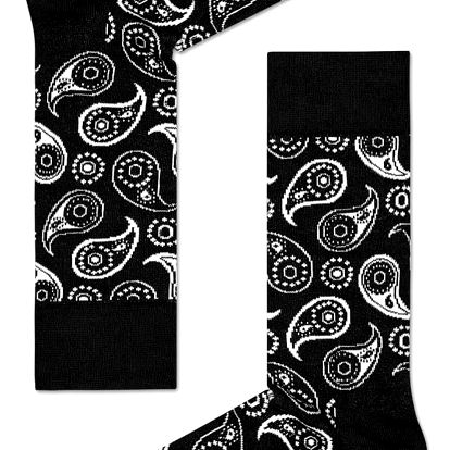 Happy Socks černé dámské ponožky Pasley