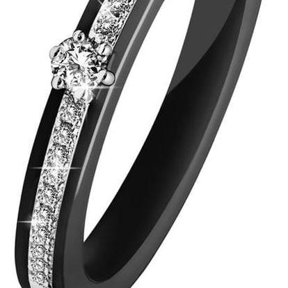 Prsten s krystaly Swarovski® GemSeller Stephanie, velikost54
