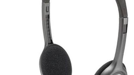 Headset Logitech H111 (981-000593) + Doprava zdarma