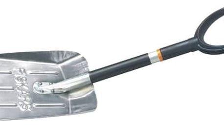 Lopata Fiskars Do auta, lehká (141020) černá/stříbrná