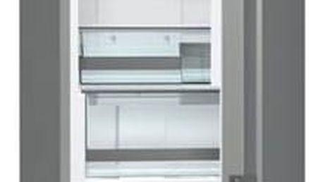 Kombinace chladničky s mrazničkou Gorenje NRK6203TX šedá + Navíc sleva 10 % + Doprava zdarma