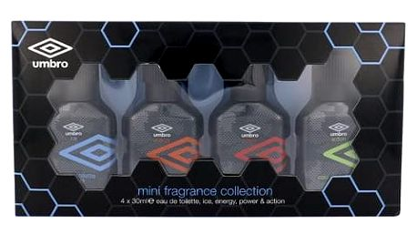 UMBRO Mini Set 1 EDT dárková sada M - EDT Ice 30 ml + EDT Energy 30 ml + EDT Power 30 ml + EDT Action 30 ml