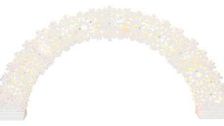 Svítcí LED dekorace Best Season Happy Snowy Time