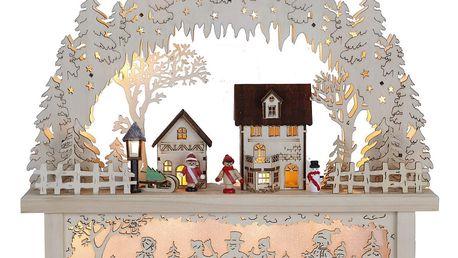 Svítící dekorace Best Season Village Candle - doprava zdarma!