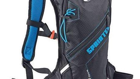 Batoh sportovní Spokey SPRINTER cyklistický a běžecký 5l, voděodolný černý