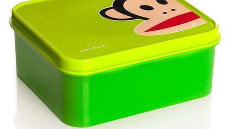 Zelený svačinový box Paul Frank