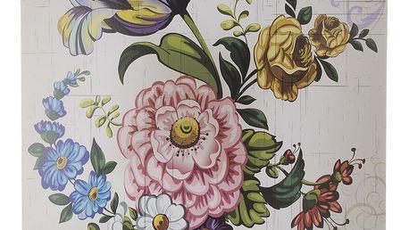 Obraz na stěnu - Retro Flowers květy