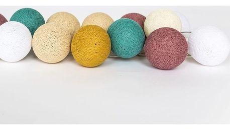 Světelný řetěz Kopenhagen Balls,35světýlek