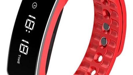 Fitness náramek CUBE 1 H18 červený