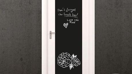 Set tabulové samolepky a popisovacího fixu Ambiance Giant Chalkboard
