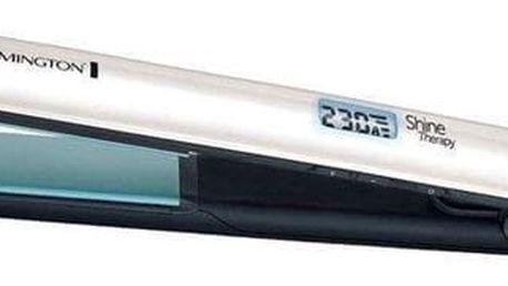 Žehlička na vlasy Remington Ceramic Slim S8500 bílá