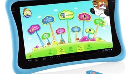 """Dotykový tablet GoGEN MAXPAD9 G4P 9"""", 8 GB, WF, Android 4.4 (MAXPAD9G4B) modrý Hra New Bright Člověče nezlob se - malé + DOPRAVA ZDARMA"""