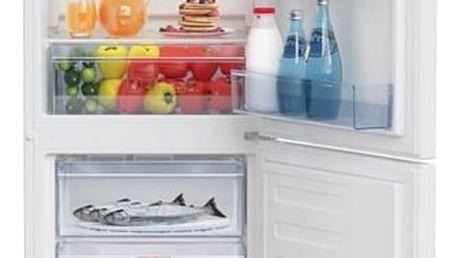 Kombinace chladničky s mrazničkou Beko RCSA 240 M30W bílá