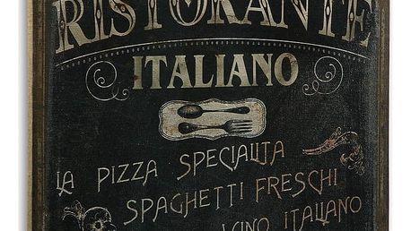 Dřevěný obraz Versa Ristorante Italiano