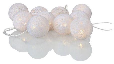 Bílý svítící LED řetěz Markslöjd Twix White