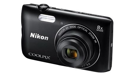 Digitální fotoaparát Nikon Coolpix A300 černý + Doprava zdarma