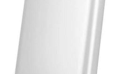 Xiaomi Powerbank 5000 mAh - externí bateriový zdroj, stříbrná