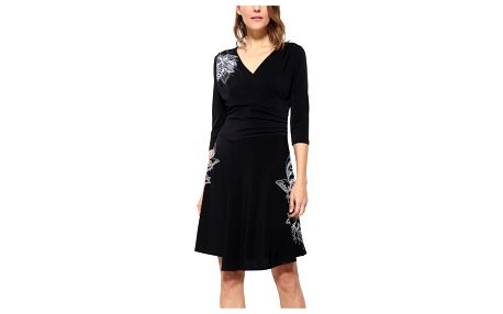 Desigual černé dámské šaty Alison