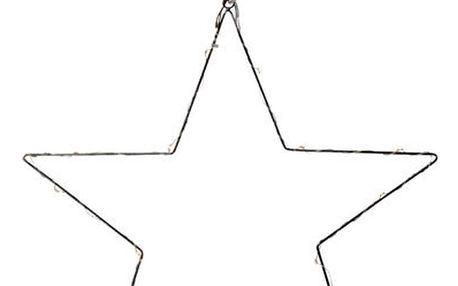 Závěsná svítící dekorace Markslöjd Nordgard Star