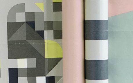 House Doctor Balicí papír Colours Pruhy, multi barva, papír