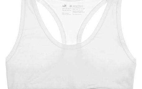 Dámská sportovní podprsenka Puma white M