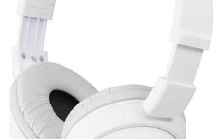 Sluchátka Sony MDRZX110W.AE (MDRZX110W.AE) bílá + Doprava zdarma