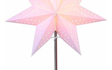 Svítící hvězda se stojanem Best Season Bobo Beige, 50 cm